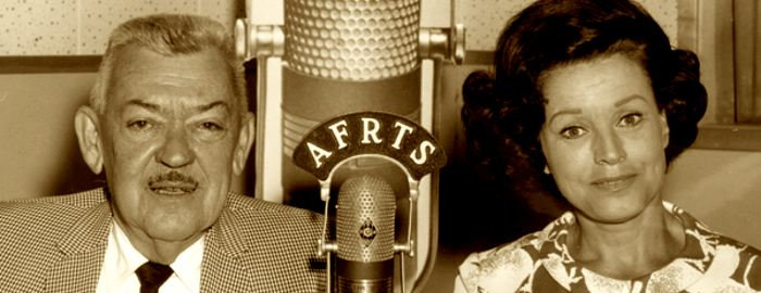 "Kay Starr with Andy Mansfield on ""America's Popular Music"" (1968) (ARMED FORCES RADIO SERVICES)"